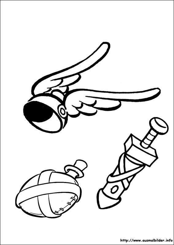 asterix malvorlagen