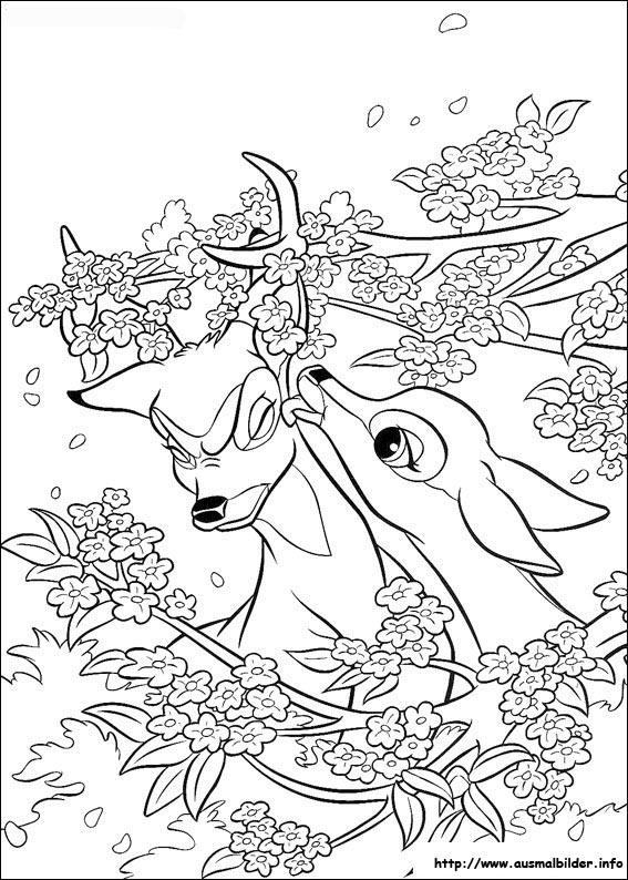 bambi malvorlagen