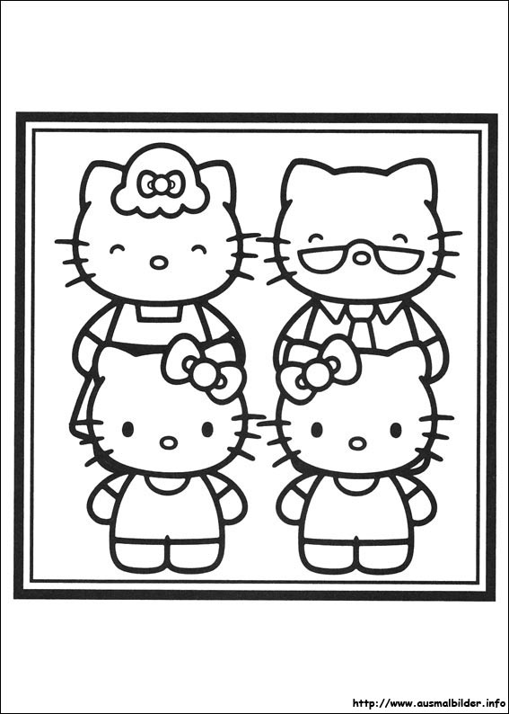 hello kitty malvorlagen